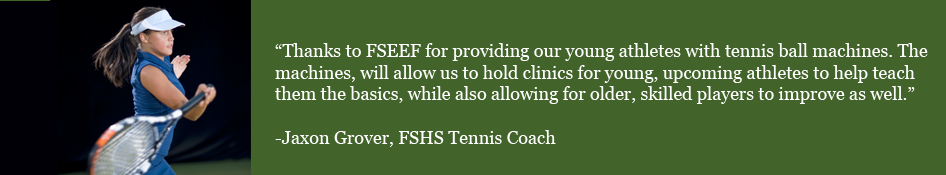 Testimonial from Tennis Coach