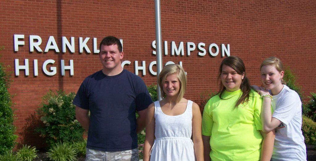 Students at Franklin-Simpson HS