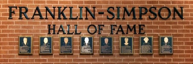 Franklin Simpson Hall Of Fame Fs Educational Excellence Foundation